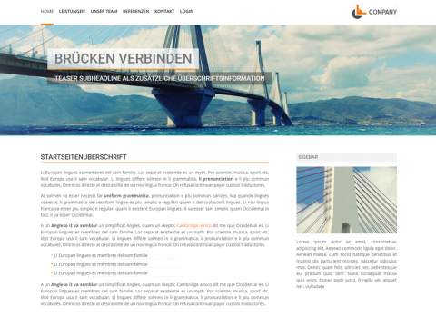 Website Design Kiel: Architekturbüro