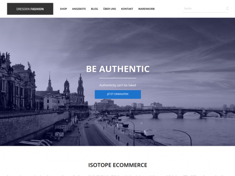 Website Design Dresden: Fashion