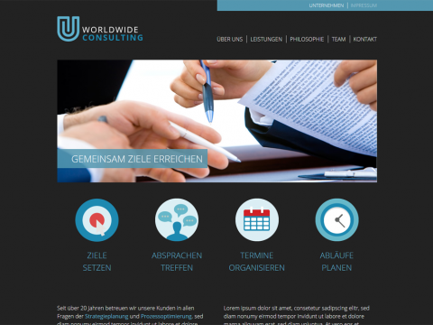 Website Design Berlin: Consulting