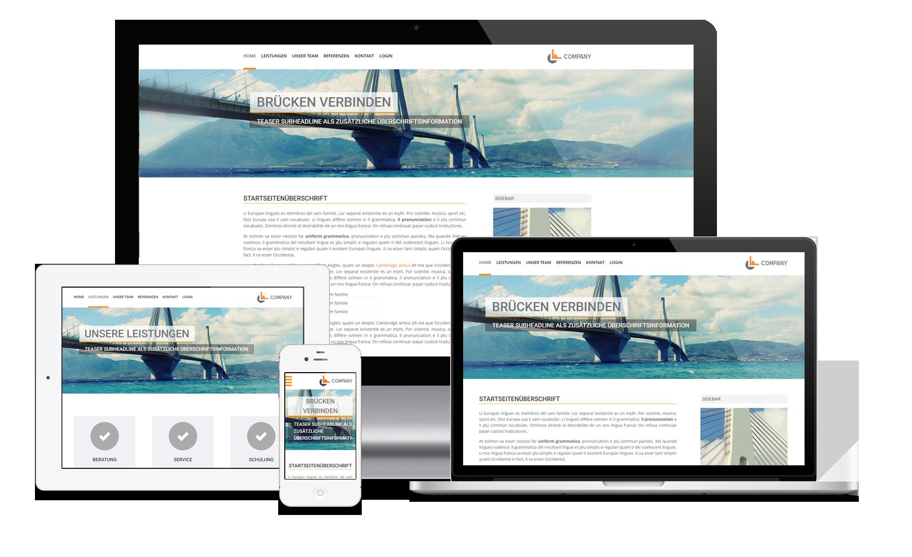 Website Angebot Advanced Homepage Erstellung Zum Festpreis